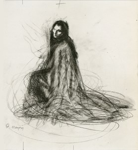 Maria Callas. Drawings